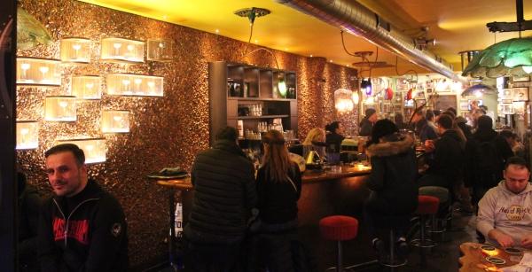 Full view of interior GreenHouse coffeeshop