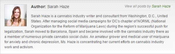 Sarah Haze bio for MarijuanaGames