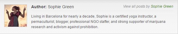 Sophie Green bio for MarijuanaGames