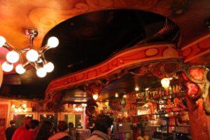 View of Bar and Patrons at Dampkring