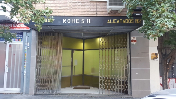 This is the entrance to Los Secretos de Maria club.