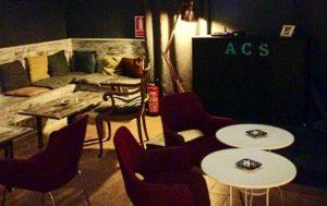 The DJ Booth at Asociacion Cultural Sativa club in Barcelona