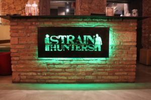 Main Desk at StrainHunters cannabis club barcelona