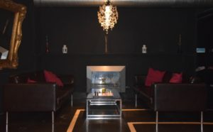Sitting area at Weeds BCN private cannabis club Barcelona