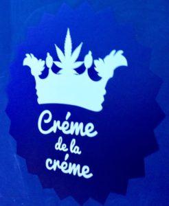 Creme de la Creme cannabis club logo