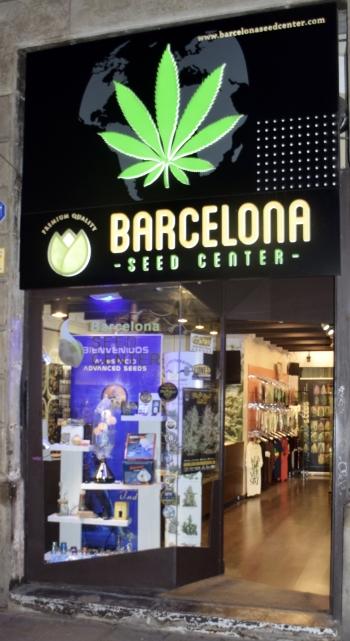 Barcelona Seed Center front Door