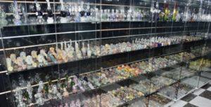 Huge Glass Case at JK Collection BCN