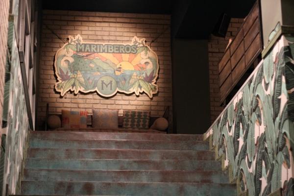 Entrance to the Marimberos Club Barcelona