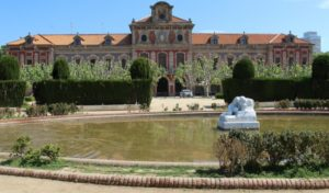 Parliament de Catalunya en Parc de la Ciutdella Barcelona - Spains Future