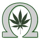 Omega symbol for Marijuana Games