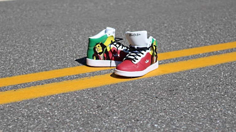 New Feature Image King of Soles Rasta Shoes