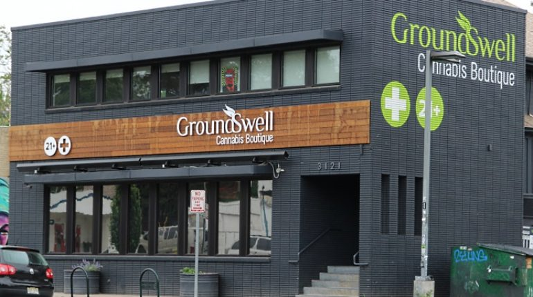 Feature image for Groundswell Dispensary Review in Denver