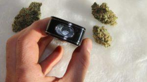Interior chamber of E-Clipse dry herb vaporizer