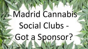 Madrid cannabis club membership sponsor offer