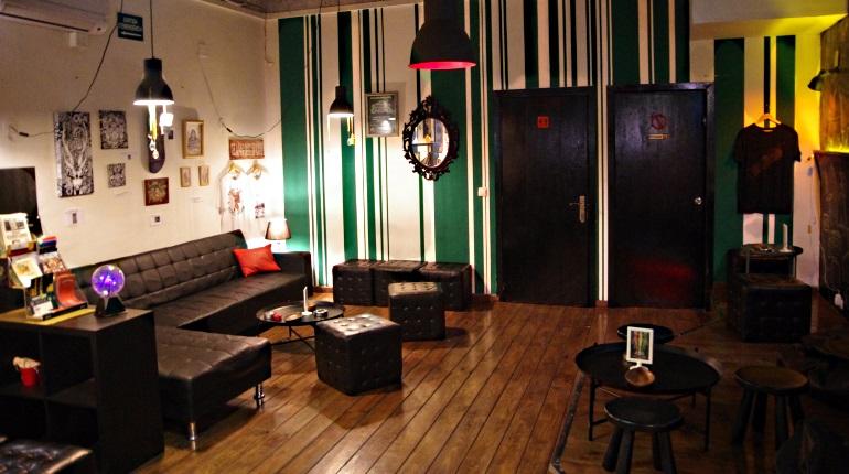 Back room at StarGrass BCN cannabis club Barcelona