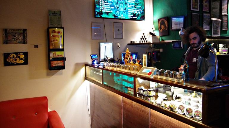 Marijuana Dispensary at StarGrass club BCN
