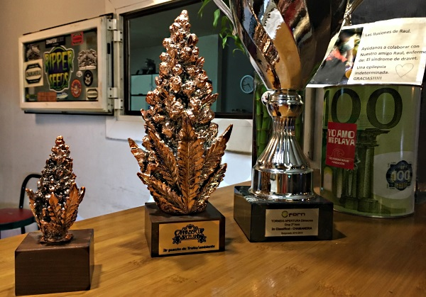 Cannabis Awards won by Chamaneria Cannabis Club Barcelona