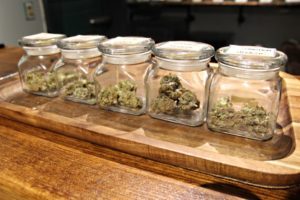 Cannabis for sale at Herban Cannoisseur Maine dispensary