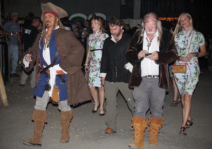 Captain Jack Sparrow and the team at Sensi Sensei out giving marijuana away