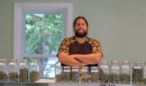Paul T McCarrier - owner of 1 Mill Cannabis Dispensary in Belfast Maine