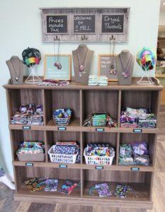 Socks Hats Jewelry iPad Cases at 1 Mill Cannabis Dispensary in Belfast Maine