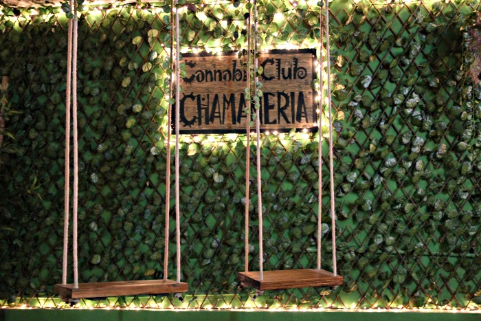 Join the Barcelona cannabis Club Chamaneria