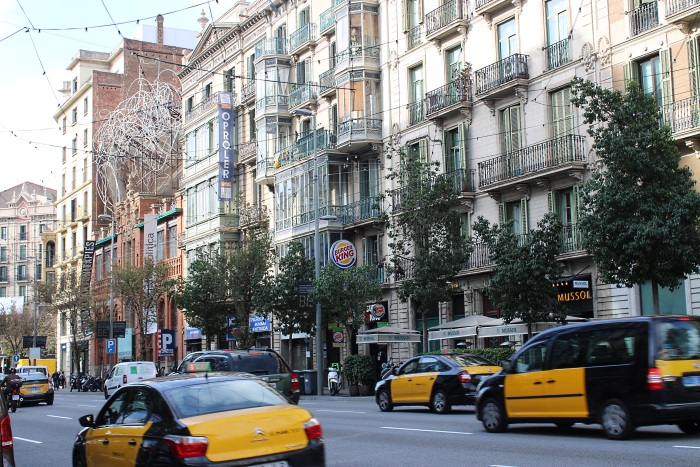 Eixample neighborhood owns most Modernist buildings of Barcelona