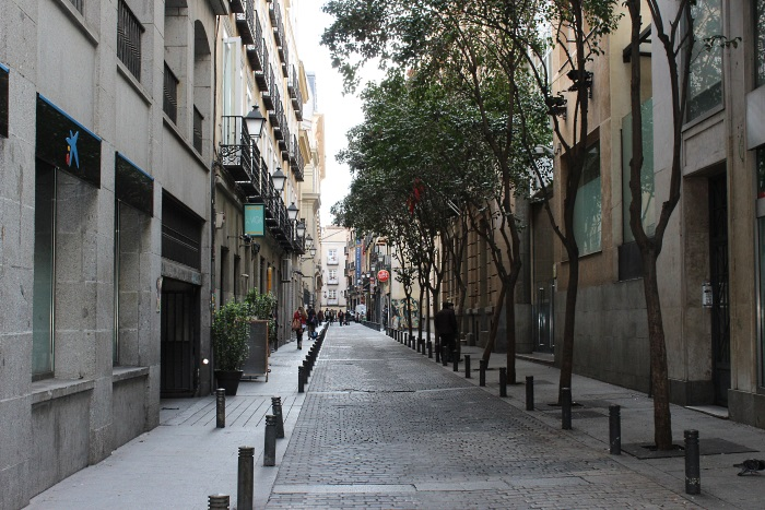 A seemingly quiet street in Madrid could host many cannabis clubs