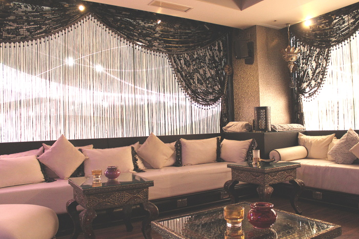 The VIP area, available for rent II