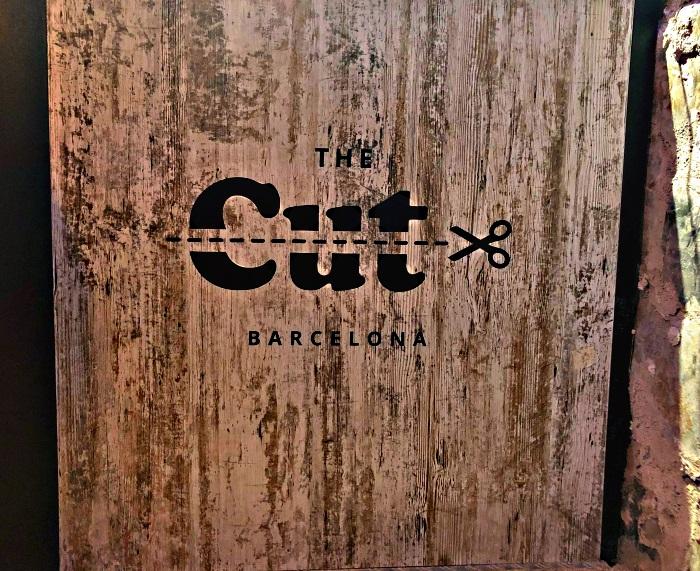 Logo of The Cut Marijuana Club in Barcelona Spain