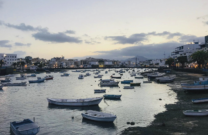 El Charco de San Gines located in Arrecife, the capital of the island of Lanzarote