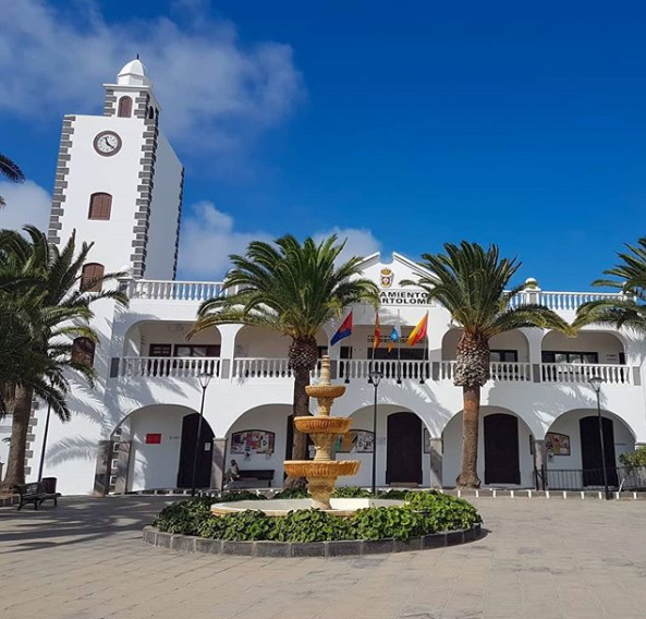 San Bartolome area in Lanzarote Spain