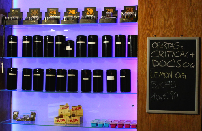The dispensary catters a wide variety of cannabis products