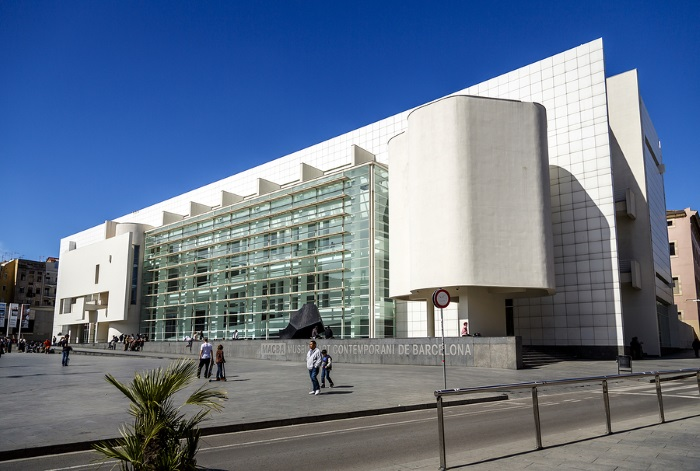 MACBA is a killer place to blaze weed in Barcelona