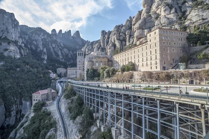 Montserrat outside Barcelona